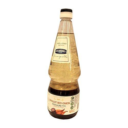 Hellmann's Shallot Red Onion Vinaigrette 1000ml Flasche (Rote Zwiebel Sauce)