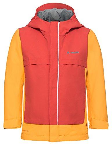 VAUDE Kinder Kids Racoon Jacket V Jacke, Orange, 122/128