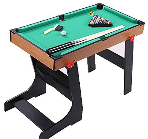 2,7-pie plegable de billar / mesa de billar, mesa de billar Tabla Set Top miniatura piscina mesa de billar juego de pelota, juguetes para los niños del cabrito y oficina en casa la familia que juegan