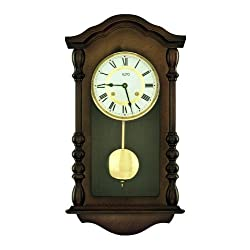 Zeitpunkt Style Clock Regulator with 14 Day Wind up Mechanism from (Zeit.punkt)