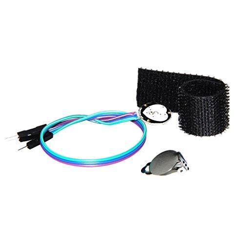 Almencla 3V / 5V Herzfrequenz Sensormodul Pulssensor Pulserkennung für Arduino Netzteilplatine