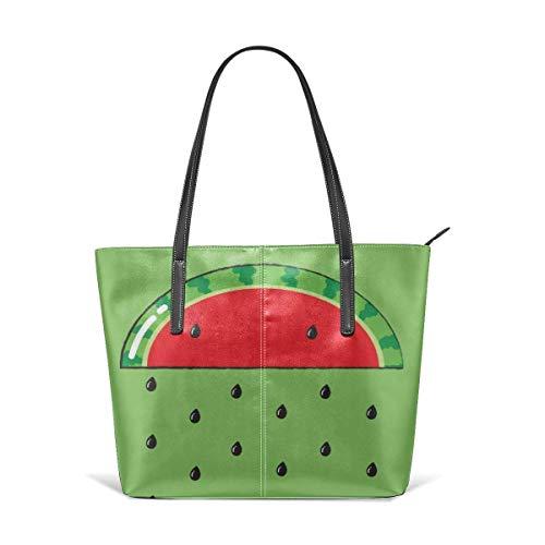 Bolsos y bolsos de la manera del patrón de la lluvia de la sandía para las mujeres Satchel hombro Tote Bags