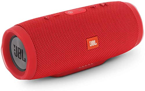 JBL Charge 3 - Altavoz inalámbrico portátil, color rojo