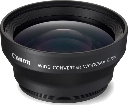 Canon WC-DC58A Weitwinkel Konverter für Powershot S2 IS / S3 IS / S5 IS