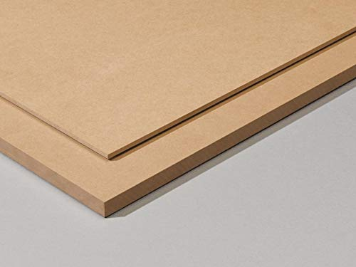 Packs de Tableros de Madera DM (MDF) de 2MM de Grosor, Dispo