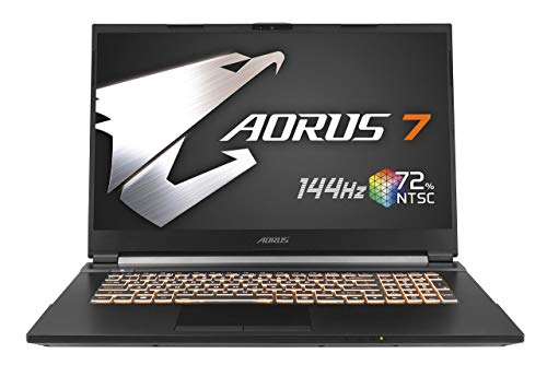 GIGABYTE AORUS 7ゲーミングノートパソコン・All Intel Inside /17.3インチ/ 6mm狭額縁/ i7-9750H/GTX 1660...