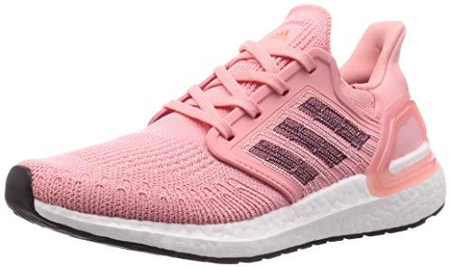 adidas Damen Ultraboost 20 W Laufschuhe, Pink (Glory Pink/Maroon/Signal Coral), 41 1/3 EU