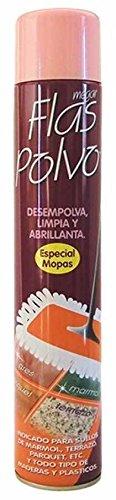 Megar Flas Polvo: desempolva, Limpia y abrillanta mopas. Bot