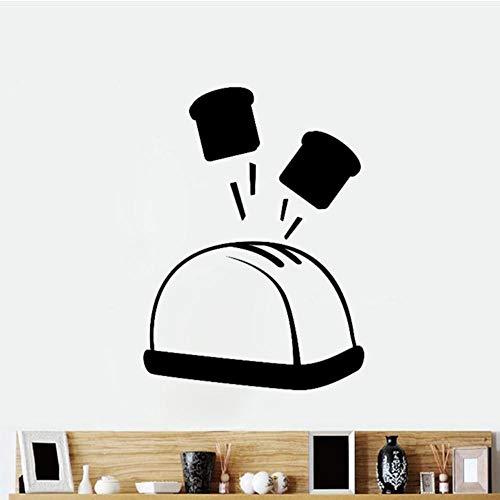 Fagreters 30X41Cm Tostapane Bar Cucina Ristorante Fai da te Adesivi murali Decorazioni per la casa Impermeabile in pvc Wallpapers Art Home Decoration