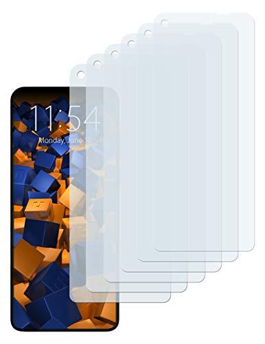 mumbi Schutzfolie kompatibel mit Motorola One Vision / One Action Folie klar, Bildschirmschutzfolie (6x)