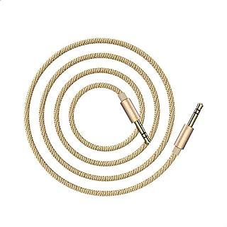 Borofone BL3 AUX Audio Cable, 3.5mm jack, 1M - Gold