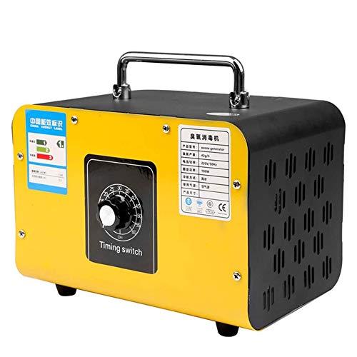 Basinnes Generador De Ozono Industrial 4800Mg / H O3 Máquina De Ozono Desodorante De Formaldehído Purificador De Aire para La Fábrica del Hogar