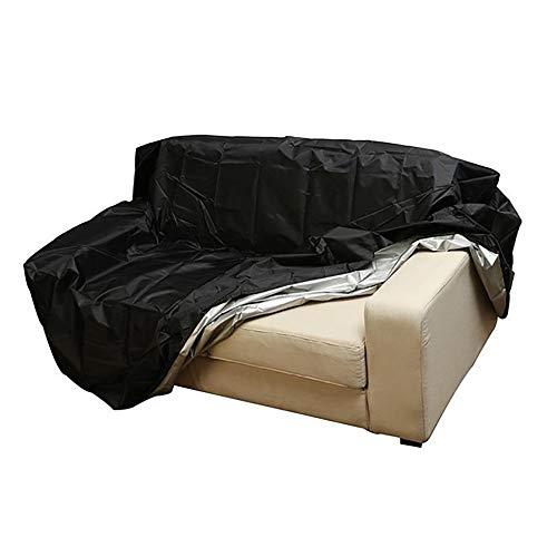 Cubierta exterior de muebles Banco del jardín a prueba de polvo cubierta exterior Mobiliario cubierta Bench Seat cubierta de la lluvia Hogar Sofá cubierta impermeable Fácil de instalar Fácil de limpia