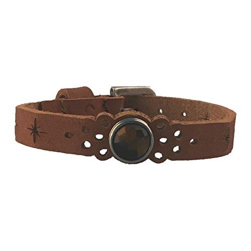Noosa Amsterdam Women's Bracelet Leather Brown WPCS–9093–110