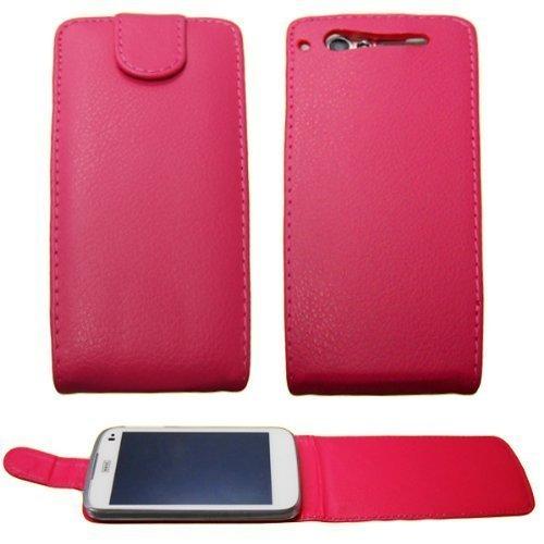 caseroxx Flip Cover für Base Lutea 3, Tasche (Flip Cover in pink)