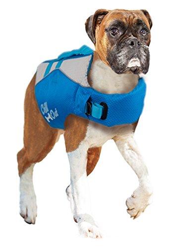 PETGARD Rettungsweste Schwimmhilfe für Hund Chill Out - Dog Life Jacket - Größe L