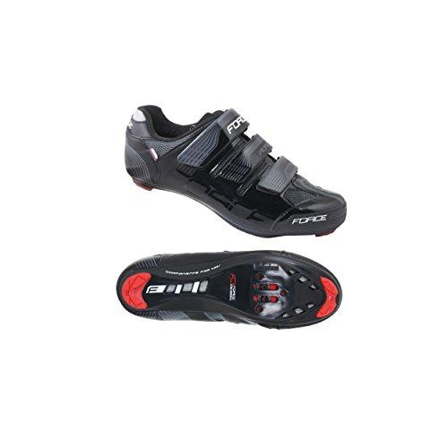 Force Rennradschuhe Race (40, schwarz)