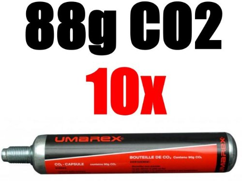 Umarex 10 Co2 Kapseln 88g Gotcha,Softair, Paintball, Co2 Gewehr