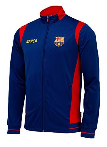 Trainingsjacke mit Reißverschluss Barça, offizielles Produkt von FC Barcelona, Erwachsenengröße, für Herren - XL