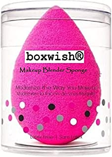 boxwise Blender Powder Puff,Makeup Blender Sponge,beuty Sponge pack of 2 makeup sponge