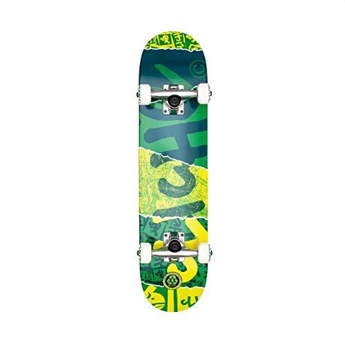 Cliche Ripped Kids Complete Skateboard 7.0 Green
