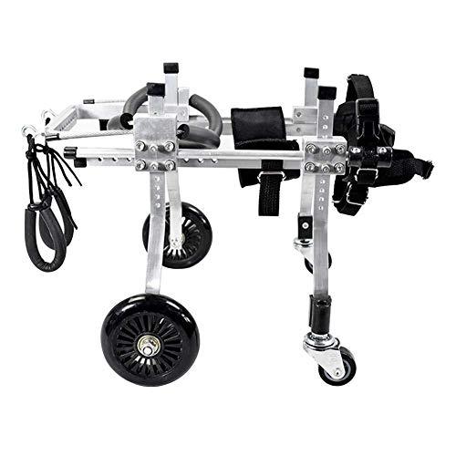 Qbylyf Onuj hond rolstoel rehabilitatie Pet Power hond rolstoel oudere hond te voet handicap hond hulp achter legg oefening auto grootte gratis pet stroller en pet rolstoel worden aangepast