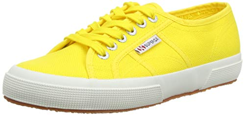 Superga amarillas model. 2750 Cotu Classic, Zapatillas Unisex Adulto (amarillo girasol)