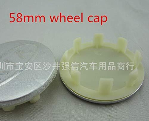 Coche Llanta centro 4 unids 56 mm 58 mm 60 mm 65 mm 68 mm Coche Emblema Centro de ruedas Caps Caps Cubiertas Cubiertas de la insignia Etiqueta de ruedas Accesorios de estilo de auto Tapacubos