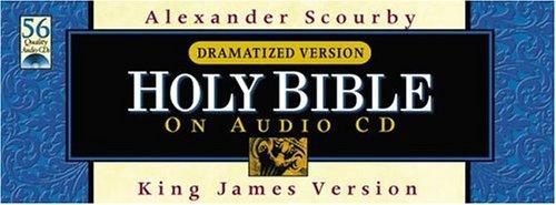 Scourby KJV Audio: KJV Black Cd Wallet Dramatized Version