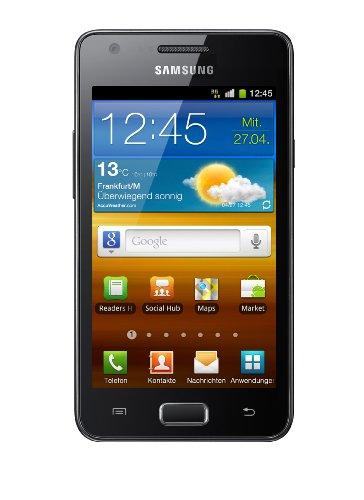 Samsung Galaxy R I9103 Smartphone (10,7 cm (4,2 Zoll) Bildschirm, Touchscreen, 5 Megapixel Kamera, Android 2.3) schwarz