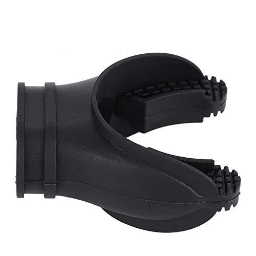 XinXinFeiEr Boquilla de silicona para buceo, buceo, buceo, buceo, buceo, boca, boquilla de silicona, accesorio para equipo de buceo (color: negro)