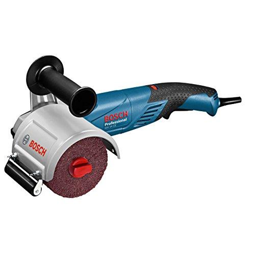 Bosch Professional GSI 14 CE, 1.400 W Nennaufnahmeleistung, 3,4 kg Gewicht, Zusatzhandgriff, Expansionswalze, L-BOXX 374, Schleifpapier, Schleifwalzen