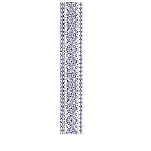 6 unids Azulejo Cerámica Azul y Blanco Pegatinas Creativas Escaleras Creativas Hogar DIY Pegatinas de Pared STICAS Pegatinas de Pared Decorativas-C1