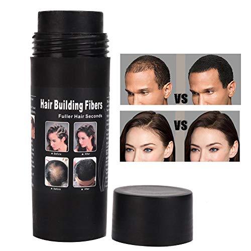 Haarfasern, Haarfaserpulver, Haarpuder Haarverdichtung Haarverdickender Zusatzfaser Natürliches Haarpflegepulver Berufshaar Verlust Lösungs Abdeckstift für Verdünnung Haar Spray(2#)