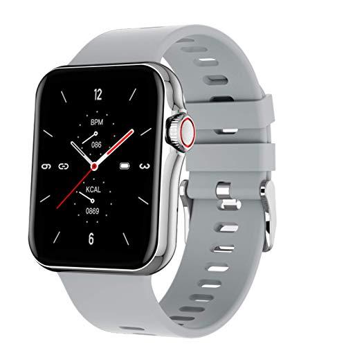 XYG 2021 D06 Nuevo Reloj Inteligente Pulsera Hombres Mujeres Deporte Reloj Ritmo cardíaco Monitor Monitor de sueño Impermeable para Android iOS,D