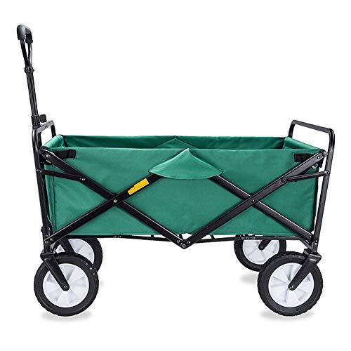 Shopping trolley Einkaufswagen | Gartentransportwagen | Faltbarer Wagen | Outdoor-Strandwagen | Tragbarer Ziehwagen | Für Werkzeugwagen mit Vier Rädern