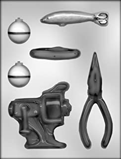CK Products Fishing Tackle Chocolate Mold