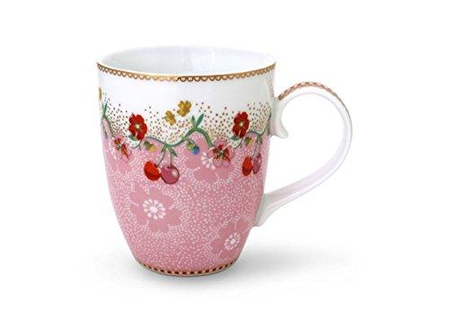 NEOTILUS 51002137 Floral Tasse, Cherry Rosa,350 ml
