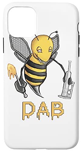 Bee Dab Caja del Teléfono Compatible con iPhone 11 Pro MAX Cubierta de Plástico + Silicona Duro Hard Plastic Cover