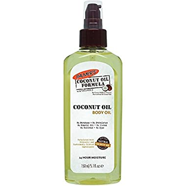 Palmers Coconut Oil Body Oil 5.1 Ounce (150ml) (3 Pack)