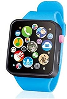 Toys&Hobbies Kids Early Education Toy Wrist Watch 3D Touch Screen Music Smart Teaching Children Birthday Gifts(Green) (Col...