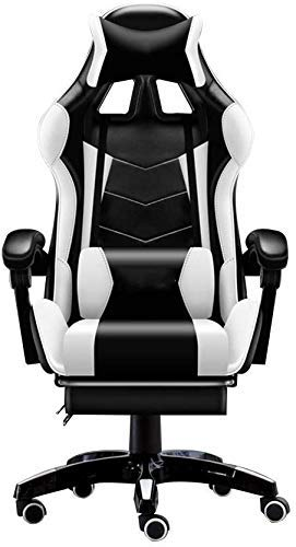 Daily Equipment Gaming Chair Computer Chairs Swivel Chair Video Game Chair Reclining Computer Chair Lifting Rotation Bluetooth Matching Settings With Footrest Ergonomics Racing Chair With Headrest