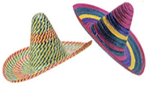 Mondial-Fete - Sombréro Acapulco Multicolore 50 cm
