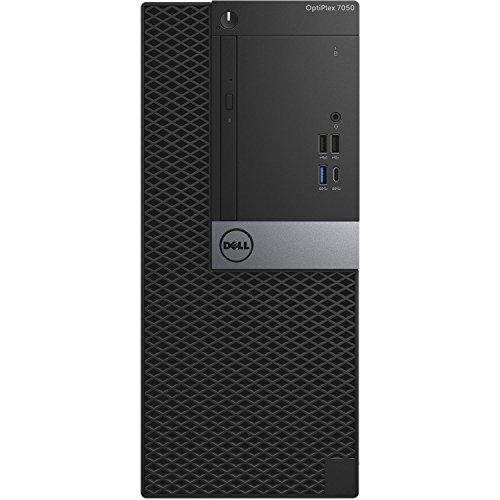 Dell Optiplex 7050 Tower Desktop - 7th Gen Intel Core i7-7700 Quad-Core Processor up to 4.2 GHz, 32GB DDR4 Memory, 2TB SATA Hard Drive, Intel HD Graphics 630, DVD Burner, Windows 10 Pro