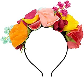 Talking Tables Fiesta Party Supplies Cuban Party Headband | Great For Mexican Theme Party, Luau Party, Hawaiian Party And Birthday Party | Multicolor