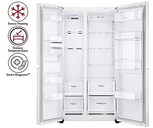 LG 675 L side-by-side Refrigerator