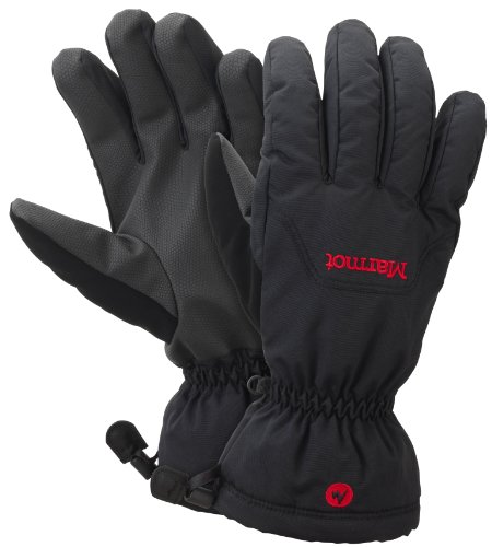 Marmot On Piste Handschuh, Herren, Black (schwarz), XL