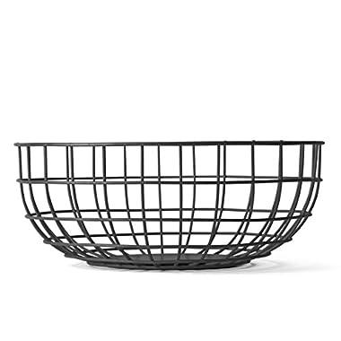 MENU 9100539 Wire Bowl, Black