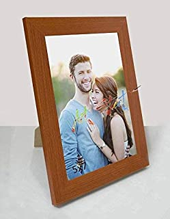 Art Street MDF Wall Photo Frame (Photo Size 5x7 Inches, Brown)