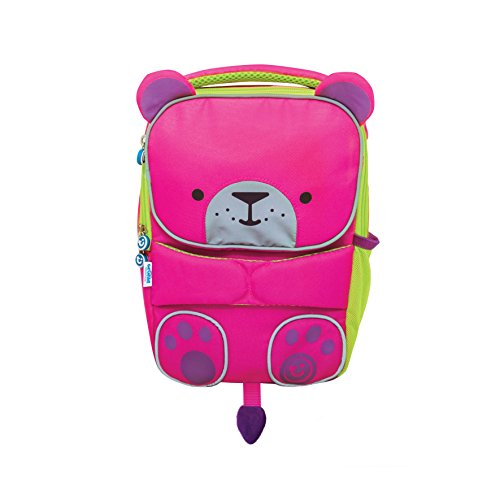 TRUNKI ToddlePak Rugzak Buddy – Betsy Kinderrugzak, 27 cm, 5 l, Roze